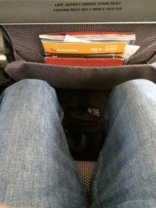 Qantas economy class SYD to MEL