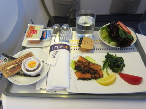 Thai Airways Appetizer