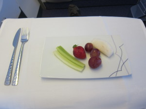 Thai Airways Dessert