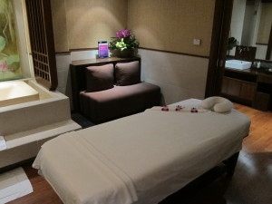 Thai airways first class spa