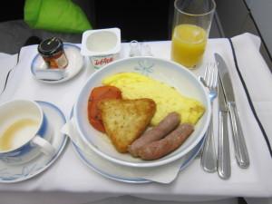 Air Tahiti Nui Business Class Meal