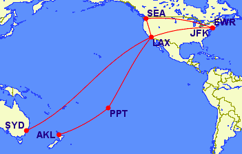 Flying To Tahiti With Delta Skymiles