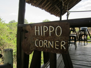 Hippo Corner at Fairmont Safari Club in Masai Mara Kenya