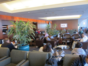 United Club Lounge in Chicago