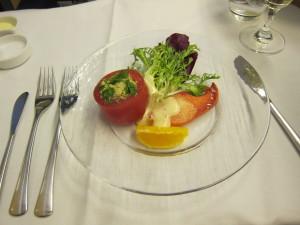 ANA First class Appetizer