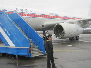The Return Flight Home Air Koryo