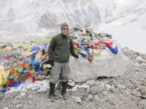 Everest Base Camp Marker
