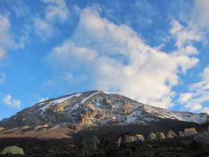 Kilimanjaro Summit from the Lomosho Route